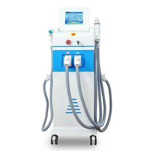 4 IN 1 Nd Laser Tattoo Removal Machine Elight OPT SHR Épilation Skin Rejuvenation machine 3Handles Yag Laser Hair détatouage