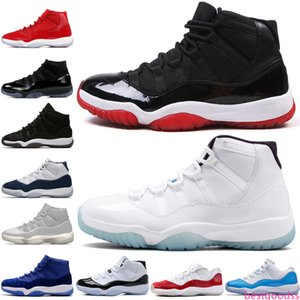 11 11s Cap and Gown Prom Night Mens Basketball Shoes Gym Red Bred PRM Heiress Barons Infrared 23 72-10 men Sports Sneakers trainers designer