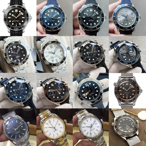 Omega Luxux Mens Seamaster james bond aqua Mens Uhr Terra automatische mechanische Meer GMT Männer Sport Master-Uhr-Marke Designer PShf #
