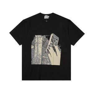 Mens Fashion Designer T-shirts C.E nouvelles femmes Casual T-shirts Vintage imprimé C.E Homme Tops Femme