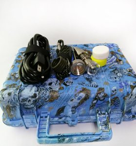 Hot Sale E Nail Pelican Electric dab nail ENAIL controller wax PID TC box with 10mm 16mm 20mm domeless coil heater dnail