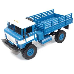 WPL B - 24 1:16 2.4G Mini camion tout-terrain RC hors route RTR à quatre roues motrices 10km / h Vitesse militaire militaire Camion RC jouet électrique