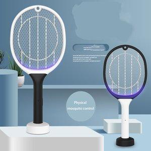 lampada domestica anti-zanzara ha portato a duplice uso swatter anti-zanzara carica creativa artefatto sicurezza DHB399 tutela dell'ambiente