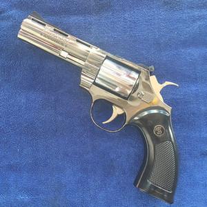 Grande Viper metallo della pistola della pistola Colt Revolver pitone 357 Fumo accendino antivento butano ricaricabile Gas Jet torcia Flame Lighter Free Shipping