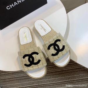 Neuesten Frauen Strass Low-Ferse Pantoffeln schwarze Perle Designer Arbeit Sommer Frauen Sandalen anziehen Schuhe klassischen Trend Mode BIG