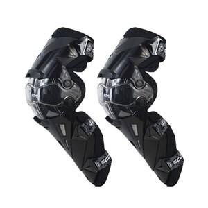 2PC دراجة نارية في الركبة وسادة واقية الركبة الحرس السلامة التروس سباق تستجمع قواها