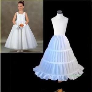 새로운 여자 아이들을위한 저렴한 Petticoats 아이들을위한 어린이 속옷 정장 착용 드레스 선 투투 스커트 웨딩 드레스 액세서리 CPA306