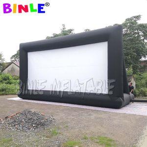 영화 시간 옥스포드 저렴한 9.1x5.2m 상업 휴대용 팽창 식 영화 스크린 야외 시네마 프로젝터