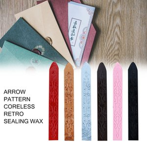 Vintage Ancient Sealing Wax Multicolor Arrows Pattern Special Wax Sealed Wax For Wedding Invitation Card Envelope