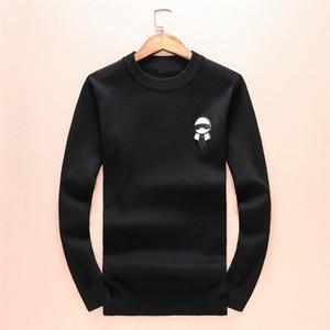 2019 Monster Sweater de lujo para hombre diseñador de la marca prendas de punto de invierno cálido suéter suéter Cardigan Slim Fit Cashmere hombres sudadera