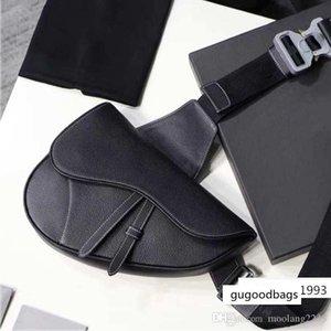 Designer cross body Fashion brand saddle style handbags high quality leather women Shoulder bags metal letter Messenger bag purses
