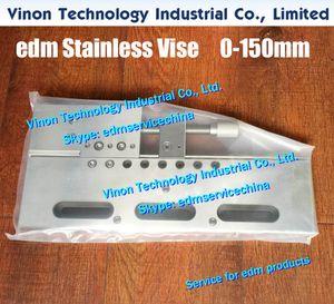 Тиски VS150 из нержавеющей стали Max Open: 0-150 мм (320Lx145Wx22H), edm Wire Cut Vise 150-миллиметровые ручные хомуты с проволочной обжимкой для электроэрозионной резки