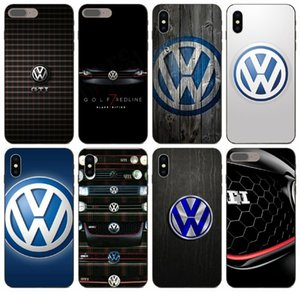 [TongTrade] Sports Car Volkswagen Golf Gti Vw Logo iPhone para o caso do X XS 11 Pro Max 8 7 6s 5s 6 5 Samsung S10 Huawei Y9 HTC 1Pcs caso de um E9
