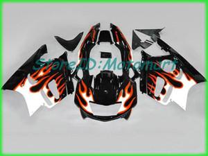 دراجة نارية هدية طقم لهوندا CBR600F3 97 98 CBR 600 F3 1997 1998 ABS أحمر فضي أسود fairings مجموعة + هدايا HH26
