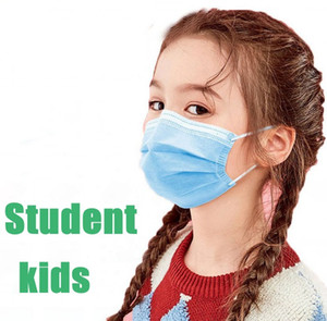 Masque étudiant rapide enfants Masque de protection Livraison à usage unique aux masques de sécurité Masques enfants Enfant Anti-poussière Prévenir la maladie Masque