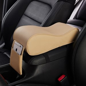 1 pcs Car Central Armrest Pad Auto Center Console Arm Rest Seat Box Mat Cushion Pillow Cover Vehicle Protective Styling
