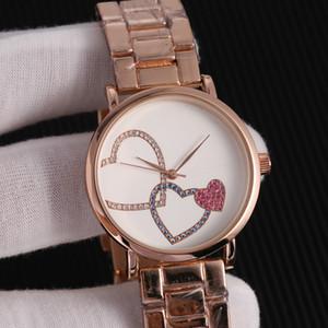 ترصيع الأزياء حجر الراين الماس بأحرف كبيرة MK ساعة الطلب الهاتفي كبير رجل امرأة مايكل ساعات الكوارتز الجملة الأمريكية عضو الكنيست أزياء العلامة التجارية