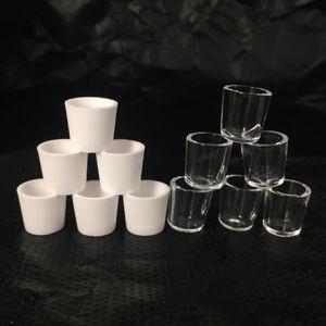 HOT céramique Quartz Insérer un bol d'insertion bol pièces de rechange Bowl For Dry Herb Vaporizer Pen verre Bong Water Pipe