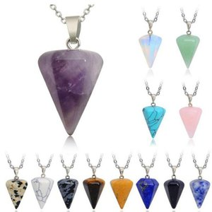 Details About Rock Chakra Jewelry Natural Crystal Necklace Irregular Rainbow Stone Pendant New S L300 Rock Chakra Jewelry Natural beauty888