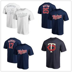 Minnesota Nelson 23 Cruz Boomstick Twins 2019 Spielerwochenende Name Nummer T-Shirts Weiß Fans Oberteile T-Shirts Aufgedruckte Logos