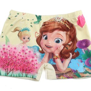 5Pcs Lot Cotton Panties 2019 Cartoon Girls Underwear Cute Princess Sophia Infant Boxers Briefs Shorts Children Underwear 2-10T