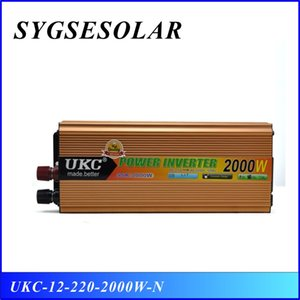 DC12V Para AC220V Inverter 2000w 50Hz / 60Hz Power Inverter Modificado Sine Wave 12v 220v 2000w