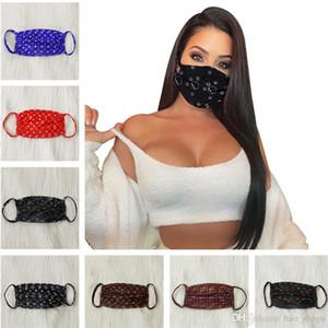 Cara de la moda de la máscara del polvo anti ultravioleta a prueba de máscaras de diseño Hombres Mujeres Boca-mufla Carta Print Designer lavable verano mascarilla Mejor INS