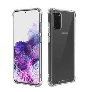 Samsung S20 Plus için Şeffaf Darbeye Akrilik Hibrid Zırh Hard Case Arka Kapak Ultra A51, A71 A70, A50 A01 A21 A11 A41 A20S Note10 Lite