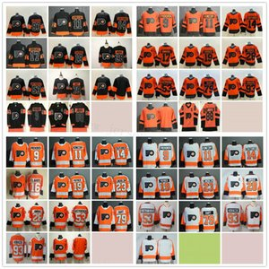 Philadelphia Flyers Hockey 88 Eric Lindros 9 Ivan Provorov 11 Travis Konecny Sean Couturier Bobby Clarke Nolan Patrick Jakub Voracek Maillots