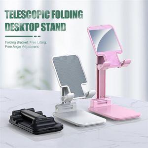 New Universal Foldable Plastic Stand Holder Adjustable For Mobile Cell Phone Tablet Desktop Stand Holder Bracket For Smartphone