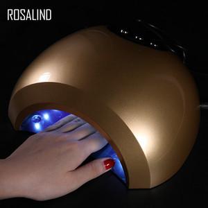 großhandel uv lampe nageltrockner 48 watt maniküre maschine für nailart baeuty härtende licht gel lack trocknen werkzeug