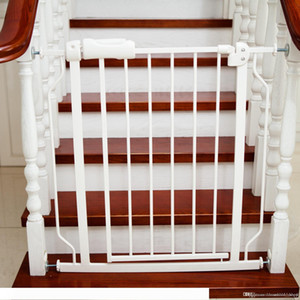 A Baby Playpens Pet Door Stair Fence Easy Close Metal Gate Safety barriers 76x71CM Protect baby safe Pet control Express setup