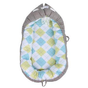 아기 둥지 침대 어린이 침대 휴대용 이동식 및 빨 아기 침대 유아 어린이 키즈 코튼 요람 여행 침대