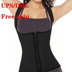 UPS Free Ship Mulheres cintura Support Plus Size Cintos Esporte emagrecimento executando Academia Gym Vest Magro cinto Feminino Corset