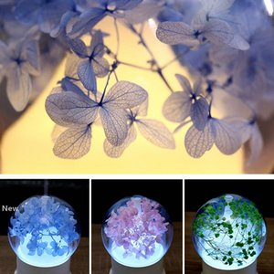 7Colors USB Ultrasonic Air Humidifier Colorful Night Light Essential Oil Aroma Diffuser Lamp Round Ball Shape with Inner Landscape RRA2827-6