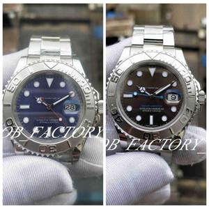Lusso Basel World BP fabbrica di migliore qualità 2813 Movimento automatico nuova versione Sport Watch Quadrante Blu 40 millimetri Lunetta vetro zaffiro uomini orologi