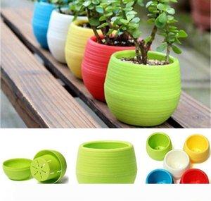 Gardening Flower Pots Mini planter pots mini plastic flower Flowerpot Home Garden Office Decor Succulent Plant
