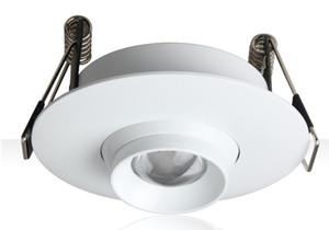 100-240VAC 입력 3W 임베디드 LED 줌 스폿 램프, 10 ~ 60 도로 지어진 축소 천장 조명, Dimmable LED 미니 스포트 라이트 LLFA