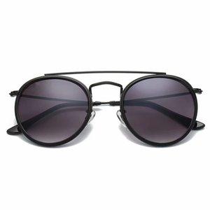 Nuovo Arrial 3647 Steampunk occhiali da sole da donna con montatura in metallo double Bridge glass lense Occhiali da sole vintage retrò Goggle con box ray