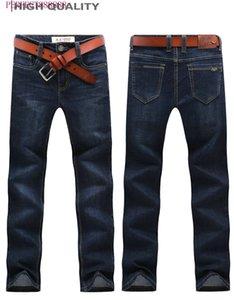 8178 HFU FGFFE AJ-JEANS Primavera Outono Calças exteriores grossas calças calças jeans stretch calças de algodão casuais negócios folgas