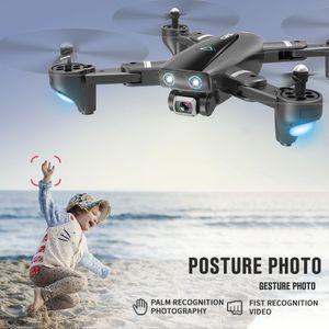 S167 control remoto Aeronaves, 4K HD 1080P Cámara 5G WIFI FPV aviones no tripulados, la localización del GPS, el vuelo de sonido envolvente, Follow Me Modelo UAV, Gesto de fotos, 3-1