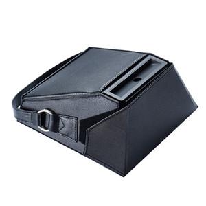 Носите хранение сумку для Amazon Echo Показать PU Leather Sleeve Защитной крышки