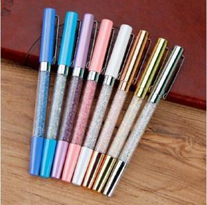 2020 bolígrafo Fashion Metal signature pen crystal Broken Diamond Pen Student school Pen Gift Ballpoint Pens