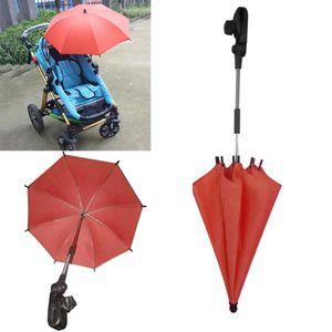 Cochecito de bebé Abrazadera ajustable Resistencia UV al aire libre Guarda Chuva Umbrella for Aluminum Apto para todos los tipos de carros. Cochecito Z549