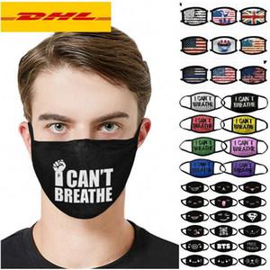 I Cant Breathe Maschere In Maschere lavabile della cotone nero Abita Materia maschere stilista maschera per adulti DHL