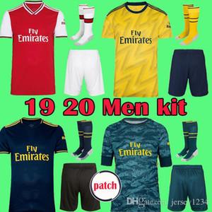 Arsenal maglia da calcio 19 20 soccer jersey football shirt PEPE Aubameyang Lacazette 2019 2020 Camiseta Xhaka Ozil del corredo di calcio della camicia uniformi