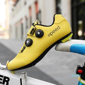 Горячая распродажа-горячая новая велосипедная обувь дышащая водонепроницаемая Горная велосипедная гоночная обувь MTB Велоспорт самоблокирующийся спортивный велосипед