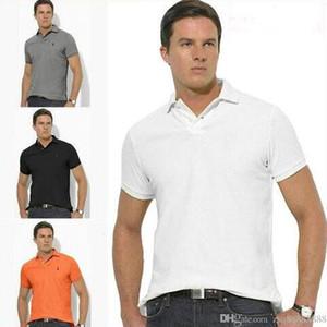 2019 T-shirt de alta qualidade polo ralph camisa dos homens dos homens de negócios designer de camisa polo bordado lapela polo T-shirt dos homens Plus Size S-6XL