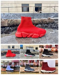 Новый Носок обувь женщин конструктора вскользь ботинки Популярные Черный Красный Белый Красочные Обувь Серый Дешевые Лучший Носок для продажи с коробкой