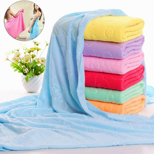 70x140cm Microfiber Quick Drying Drying Washcloth 70*140cm Swimwear Fiber Beach Bath Absorbent Shower Towel